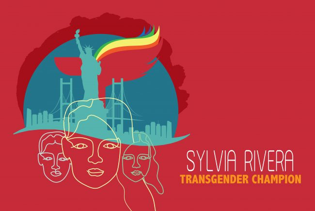 Vanguard's June Calendar artwork honoring Sylvia Rivera