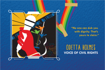 Original artwork for Odetta Holmes
