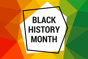 Black History Month abstract design