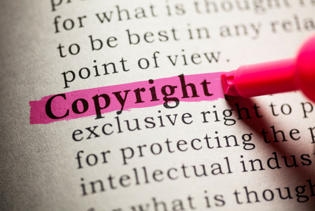 Copyright and fair use in original work
