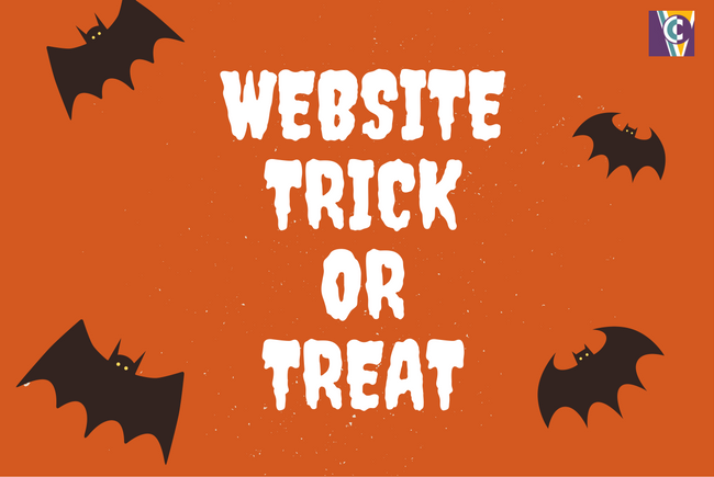 website tricks and treats