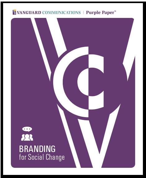 VC Purple Paper Branding