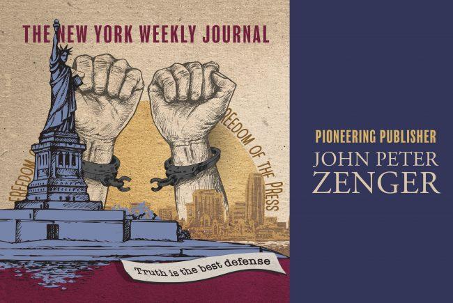 Communicator of the Month John Peter Zenger