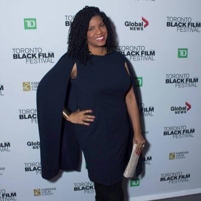 April Reign at the Toronto Black Film Festival.